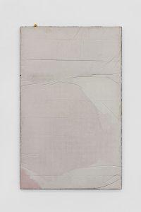 <p><em>Untitled (Learn to Lay Brick) V</em>, 2017<br /> Steel, concrete, iron-oxide, hematite, 160 × 100 cm<br /> Image: Bernhard Strauss</p>
