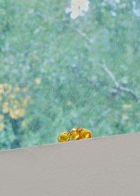 <p><em>Date Series (Barhi), 1–50</em>, 2017<br /> Mold-blown glass, variable dimensions, 50 uniques<br /> Kunsthaus L6, Freiburg, DE<br /> Image: Bernhard Strauss</p>