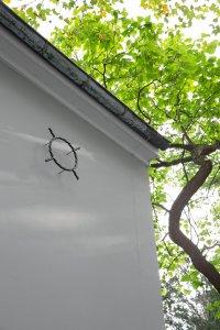 <p>Detail, <em>¤</em>, 2020<br /> Kunsthalle Basel back wall, CH<br /> Image: Gina Folly</p>