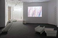 <p>Exhibition View, <em>Gemini II</em>, 2018<br /> Anorak at Solitude Project Space, Stuttgart, DE<br /> Image: Florian Model</p>